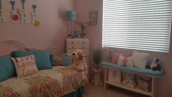 Paige and Claire bedroom re-do's 2015
