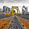 """Getting Low (Selective Color)"" - Pittsburgh, Mount Washington   Recommended Print sizes*:  4x6  