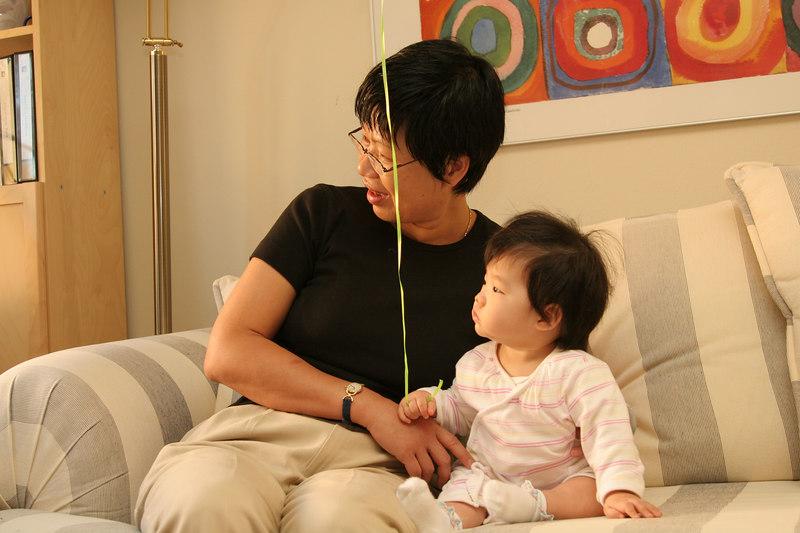 Mei's visit