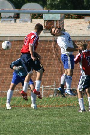 Kenwood, JV Soccer, Varsity Football 10 09 2006