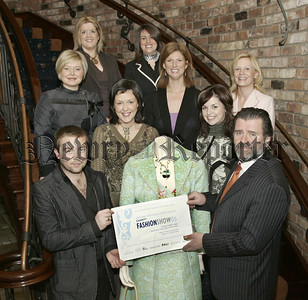 Soroptomist International of Newry and Mourne laumch the 2006 charity fashion show on Saturday 4th March at 1pm at the canal court. pictured are main sponsors. 06W7N4