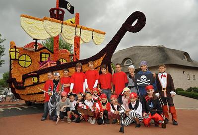 Bloemencorso 2009 - Groepsfoto's