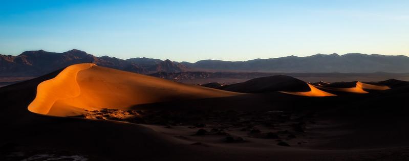 Mesquite Dunes, Sunrise, Death Valley