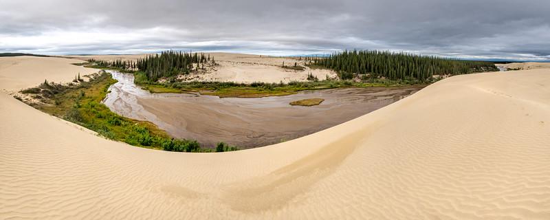 Ahnewetut Creek Between the Dunes