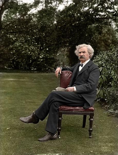 Mark Twain, circa 1900