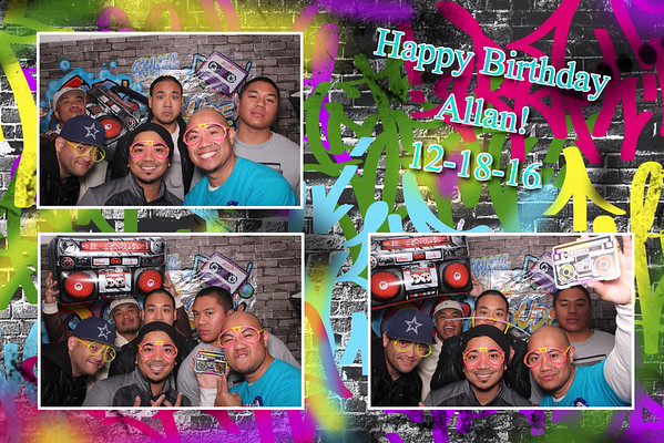 Allan's Birthday Bash - 80's Theme