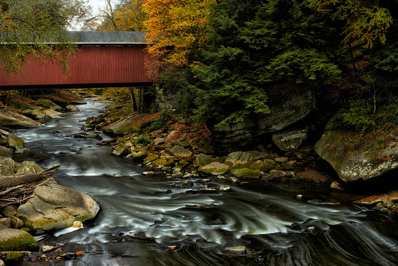 McConnells Mill Covered Bridge Fall.jpg