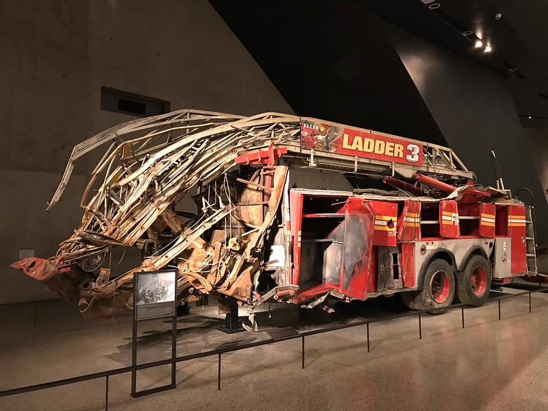 Ladder Three, 9/11 Museum.