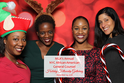MLA's Annual NYC African-American General Counsel - 12/14/18