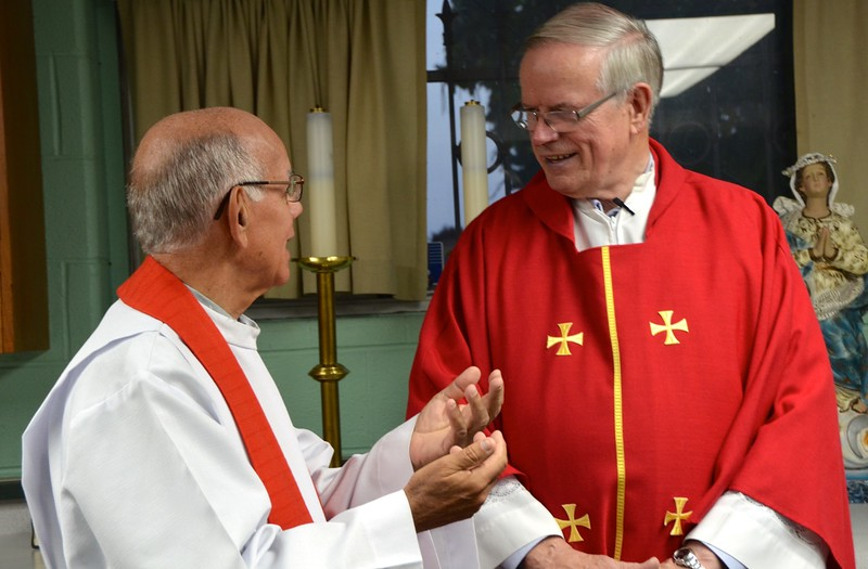 Fr. Richard and Fr. John