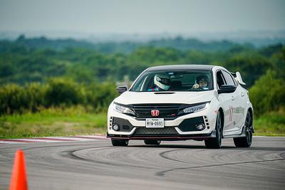 17 White Honda Civic Type R