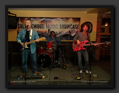 The Stephen Hanmore Band with Steven Henry at the 10th Annual Collingwood Music Showcase