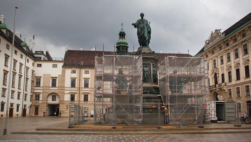 vienna: hofburg palace