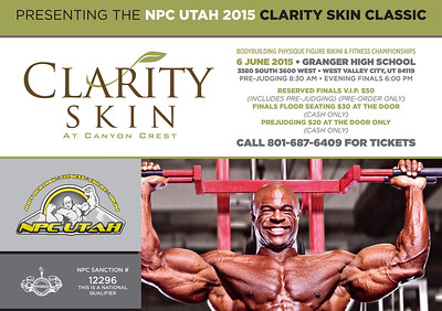 2015 NPC Utah Clarity Skin Classic