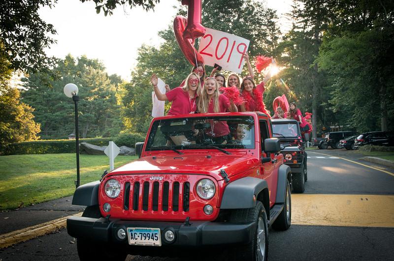 Greenwich Academy 192nd First day of school, Sept. 4, 2018. Photos By Tiffany Hagler-Geard
