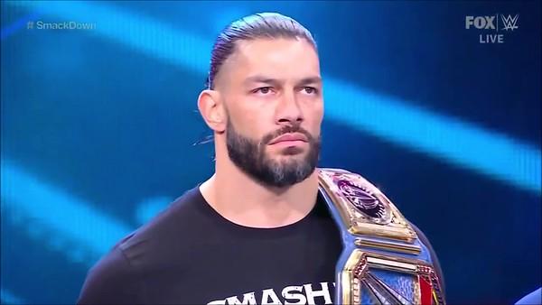 Roman Reigns - Screencaps / Smackdown April 23, 2021