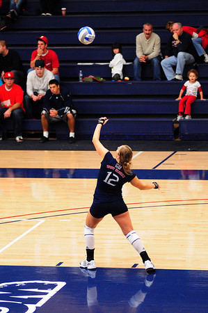 St. Mary's Women's Volleyball / Senior night vs Portland - 21 Nov 2009