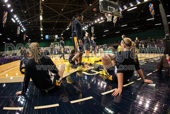 Mt Tabor Spartans vs Ardrey Kell Knights Women's Varsity Basketball 3/4/2014