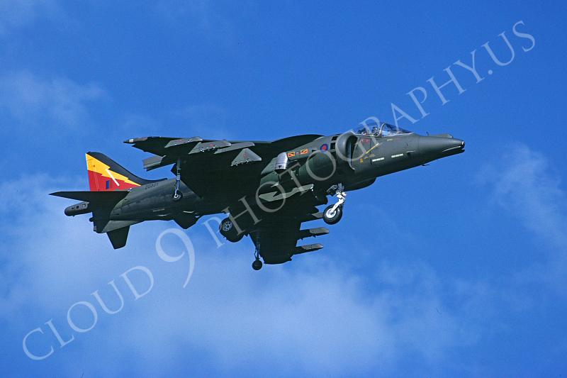 BAE Harrier 00014 BAE Harrier British RAF ZG531 10 September 1992 by Stephen W D Wolf .JPG