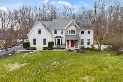 413 Forest Ln North Whales PA Aerial