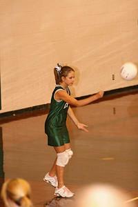 Volleyball,  Canton v Chapel Hill, 7&8th grade,  10/2/06