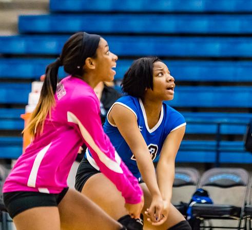 Volleyball, JV, 2015, 10-06-15, Paschal