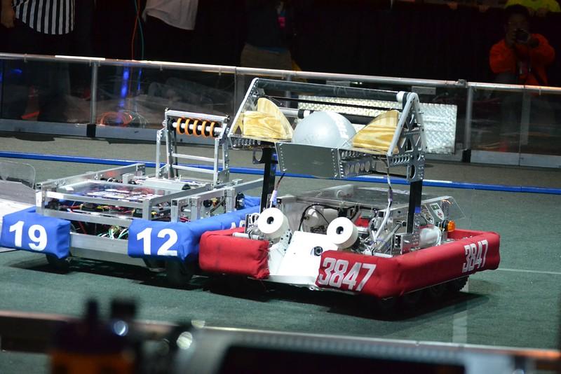2016 First Bayou Regional Robotics Competition - Bouvier - 331
