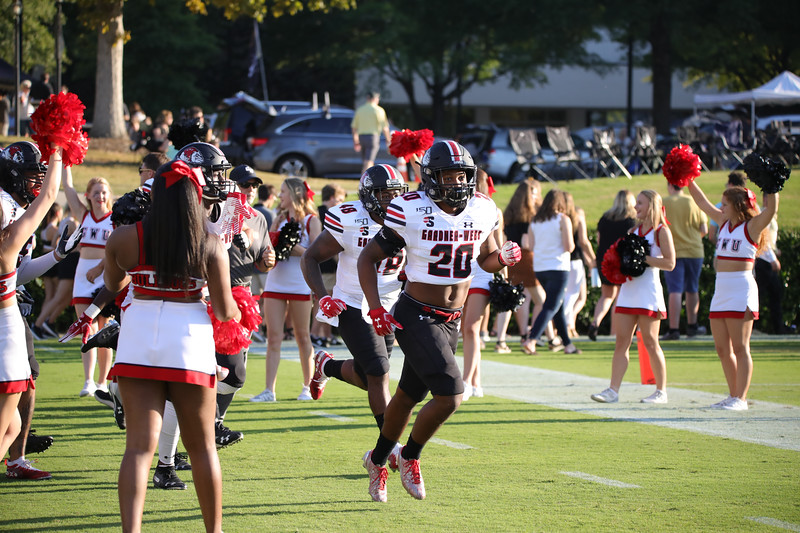 Gardner-Webb University Football takes on Wofford in an away matchup at Gibbs Stadium.