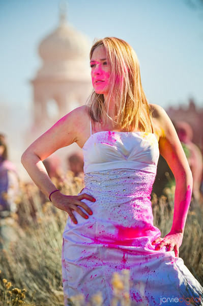 Trash the Dress - Holi Style