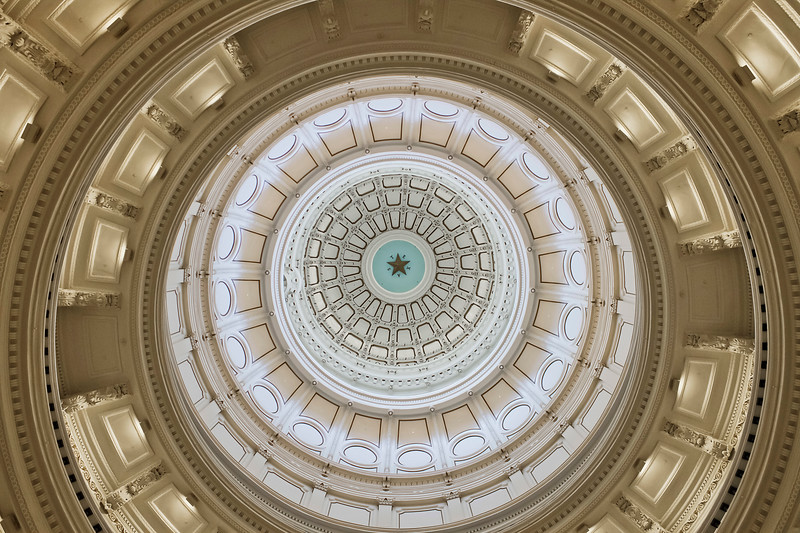 Texas State Capitol Dome<br /> Austin, Texas