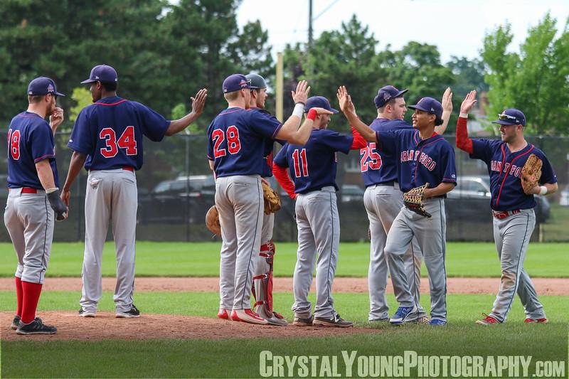 Brantford Red Sox at Hamilton Cardinals July 29, 2018