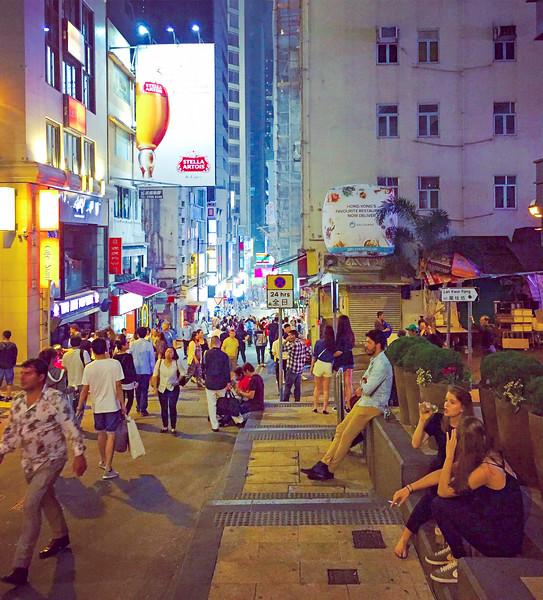Lan Kwai Fong. Hong Kong