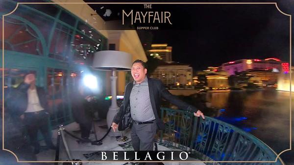 The Mayfair Supper Club - 360 Revolve - Jan 25th 2020