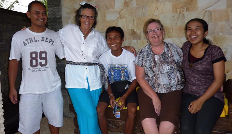 IBU Diane and her staff