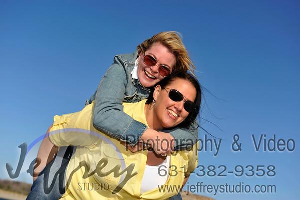 Gail & Andi - Kings Park Bluff - April24, 2014