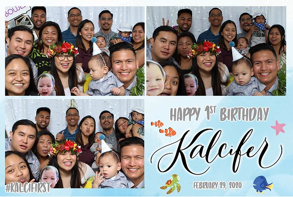 Kalcifer's 1st Birthday (Photo Booth)
