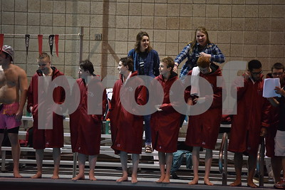 2016 Mason City @ Fort Dodge Boys Swimming