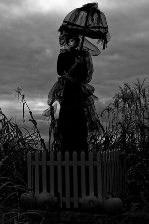 Visite Parc Jeanne-Mance Halloween Antoine et Anabelle