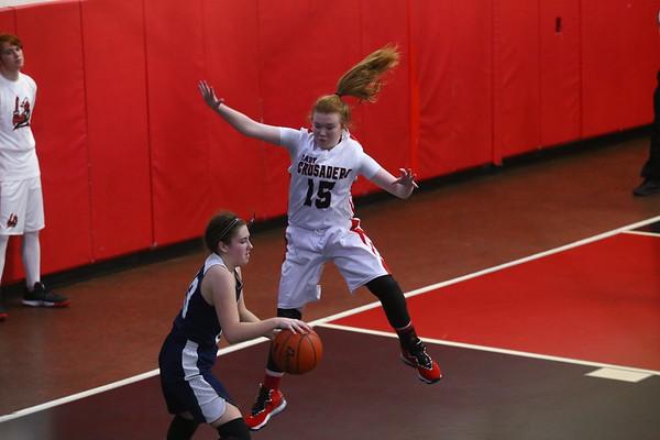 2021-01-30 Calvary Girls Basketball Game