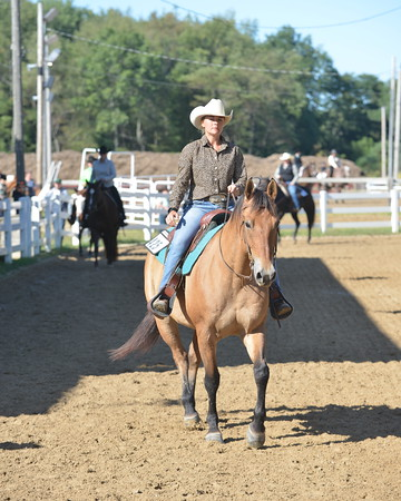 Event 53 &  54   -  Ranch Horse Riding   19 over, 18 Under