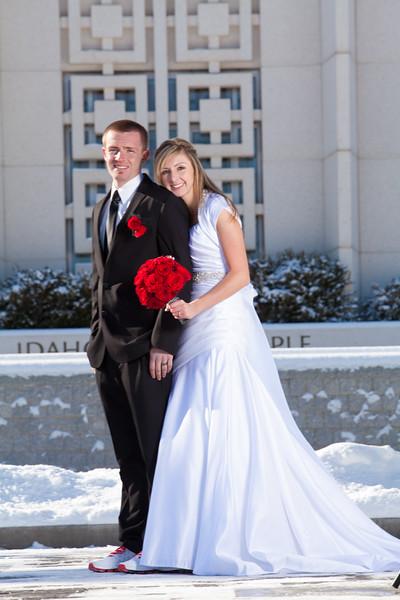 Tyler Shearer Photography Dustin & Michelle Wedding Idaho Falls Temple Rexburg Photographer-9911.jpg