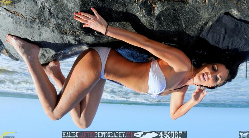 beautiful woman sunset beach swimsuit model 45surf 864.09...