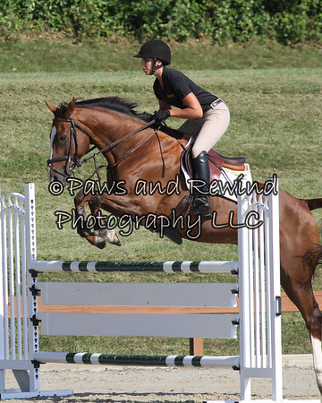 Grand Prix Ring:  High Schooling Jumper (Friday)