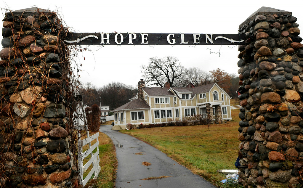 . Michael and Paula Bushilla have turned Hope Glen Farm in Cottage Grove into a seven-building complex for weddings and events. (Pioneer Press: Jean Pieri)