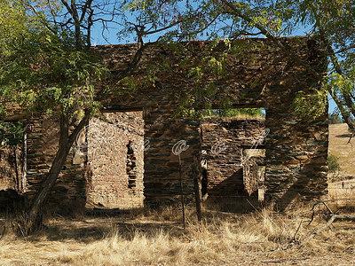 Ruins east of Lodi, California USA