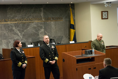 2/21: Outreach Oral Argument - Navy-Marine Corps Court of Criminal Appeals
