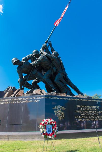 10. Iwo Jima Marine Memorial