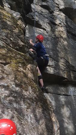 2016 Peak 7  Rock Climb June
