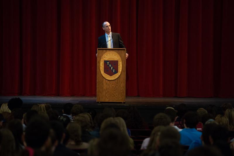 Colin Farrar speaks during Morning Morning