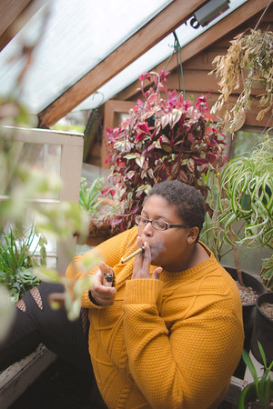 StoneyScorpio in the Greenhouse
